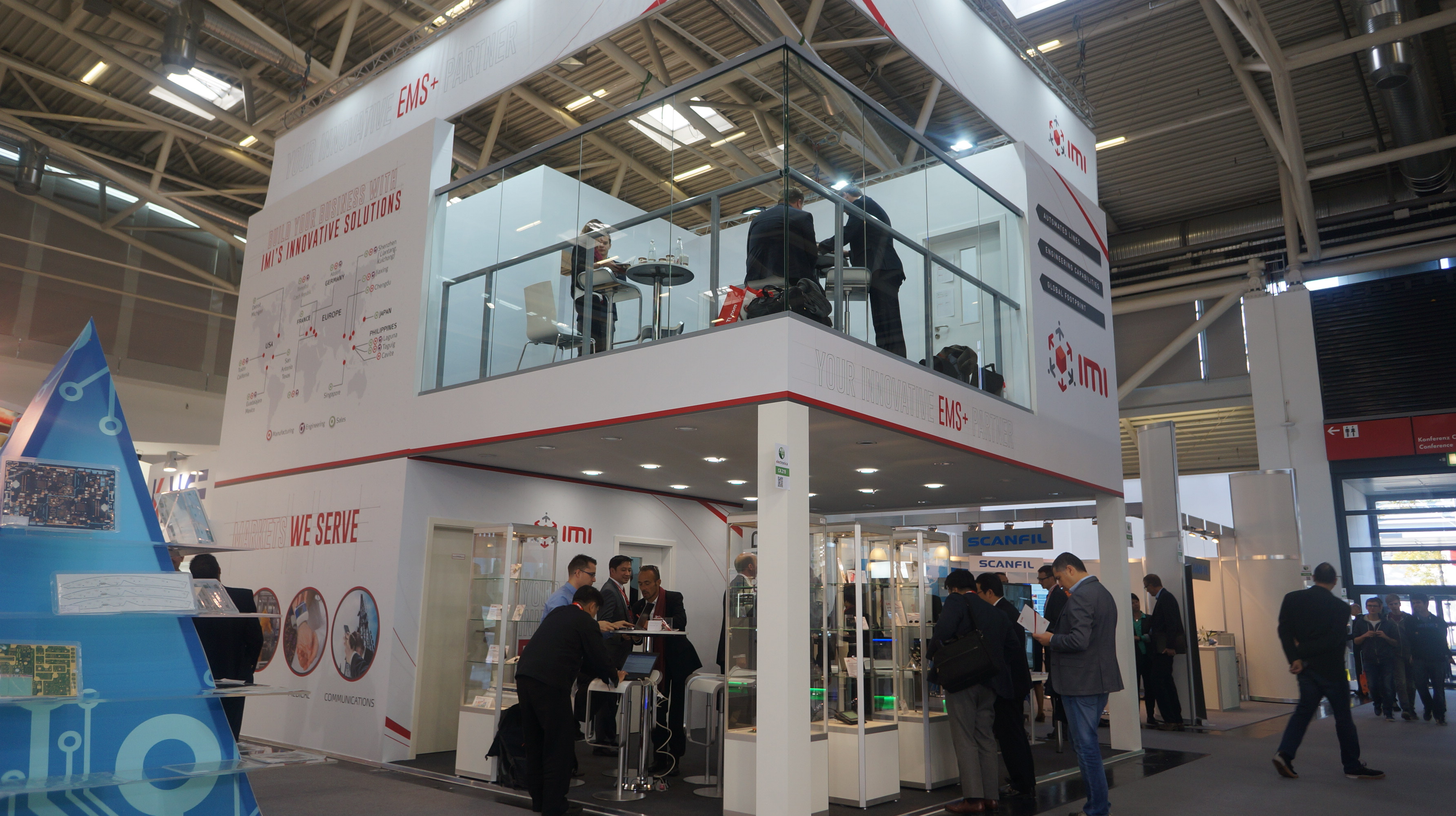 Electronica photos (12) - IMI to Showcase its Expanding Capabilities at Electronica 2018 - IMI News