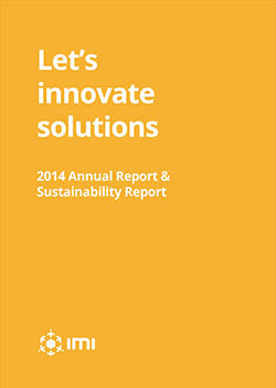 Let's Innovate Solutions 2014 Annual Report & Sustainability Report photo - IMI