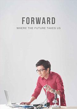 Forward where the future takes us photo - IMI