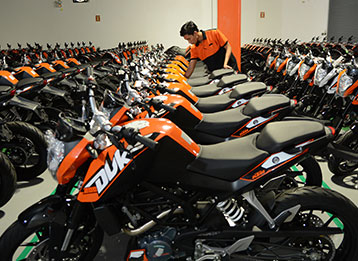 Motorcycle Assembly for KTM AG photo - IMI