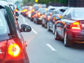 Yuletide Woes: Holiday Traffic Jams