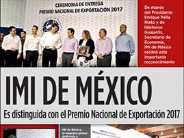 News Sept IMI Mexico Wins thumbnail - IMI Mexico wins National Exportation Award - IMI